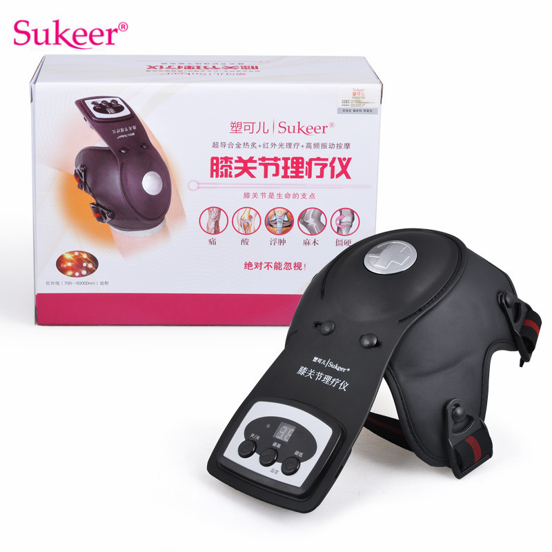 Sukeer Infrared Magnetic Therapy Knee Massager Rheumatoid Knee Joint Physiotherapy Instrument Relieve Elbow Arthritis Leg Pain