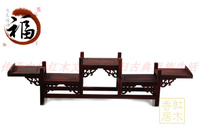 Special offer rosewood shelf antique mahogany furniture accessories teapot swing frame decoration curio bridge base