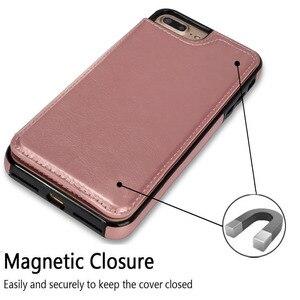 Image 5 - Чехол для samsung Galaxy S7 S8 S9 S10 Plus Note 8 9 из искусственной кожи с откидной крышкой чехол с бумажником подставкой и держателем для телефона держатель Анти Царапины, защищает телефон от пыли