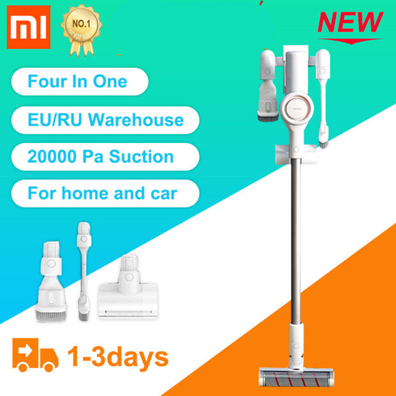 In Stock Xiaomi Dreame V9 Original Vacuum Cleaner Handheld Wireless Acarid Killing Strong Suction 400W High