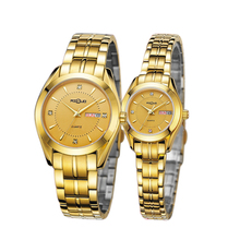 Top Quality Fashion Lover's Quartz Watch Gold-plated Water Resistant Business watch casual style Quartz Wrist Watch New arrival