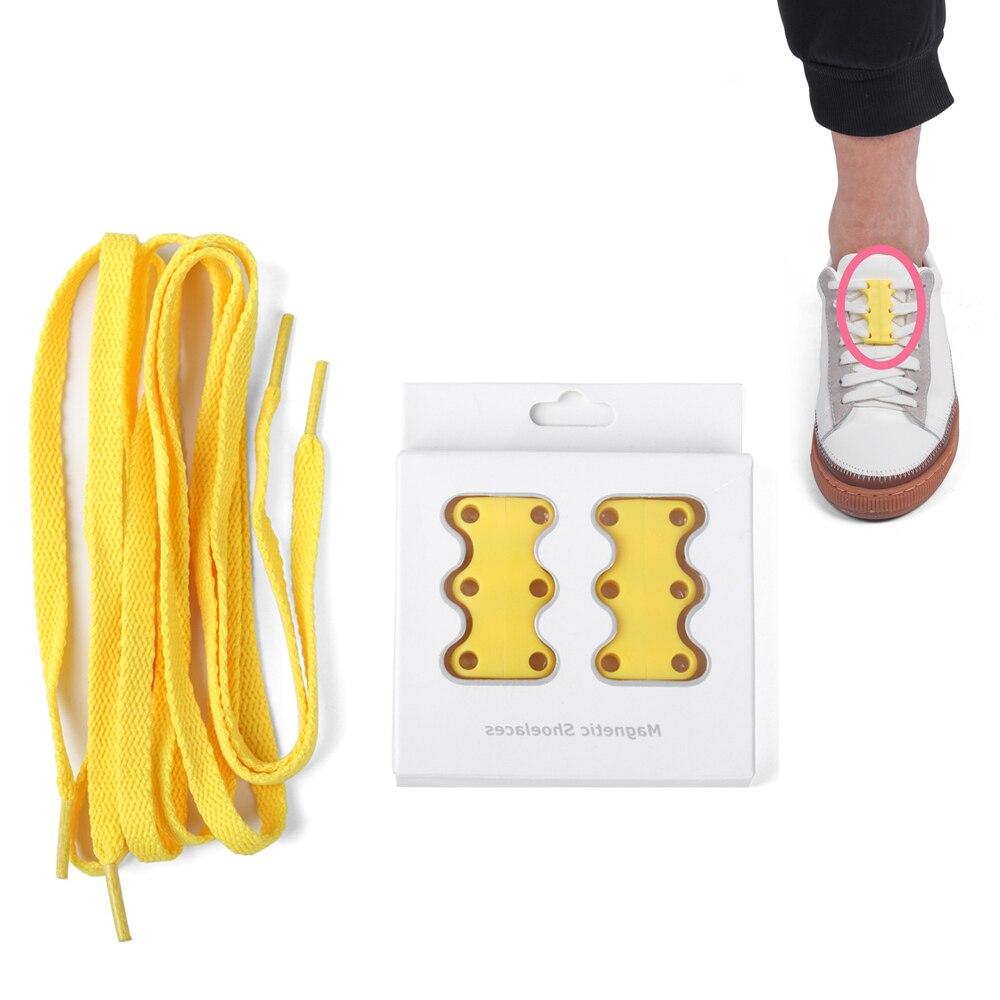 Creative magnetic shoelaces 2019 Fashion Colorful lazy  no tie shoelaces #MS333Creative magnetic shoelaces 2019 Fashion Colorful lazy  no tie shoelaces #MS333