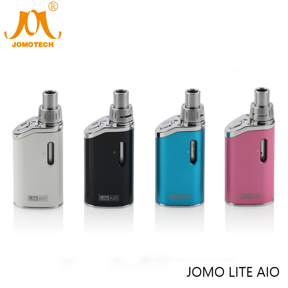 Original JomoTech 1300mAh Lite Aio Box Mod Ecig Kit 40W Electronic Cigarette Mod Kit Lite Aio Vape Mod VS Ego AIO Jomo-184