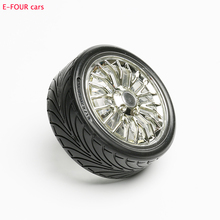 E-FOUR Car Tyre Air Freshener 2 Color Emulate Fashion Design Rolling Outlet Vent Clip Perfume Natural Fragrance