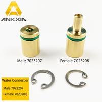 Conector de agua 7023207 y 7023208 para máquina cortadora láser de fibra