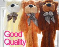 100cm 120cm 160cm 3 Colors Big Teddy Bear Skin Coat Plush Toys Stuffed Toy Baby Toy