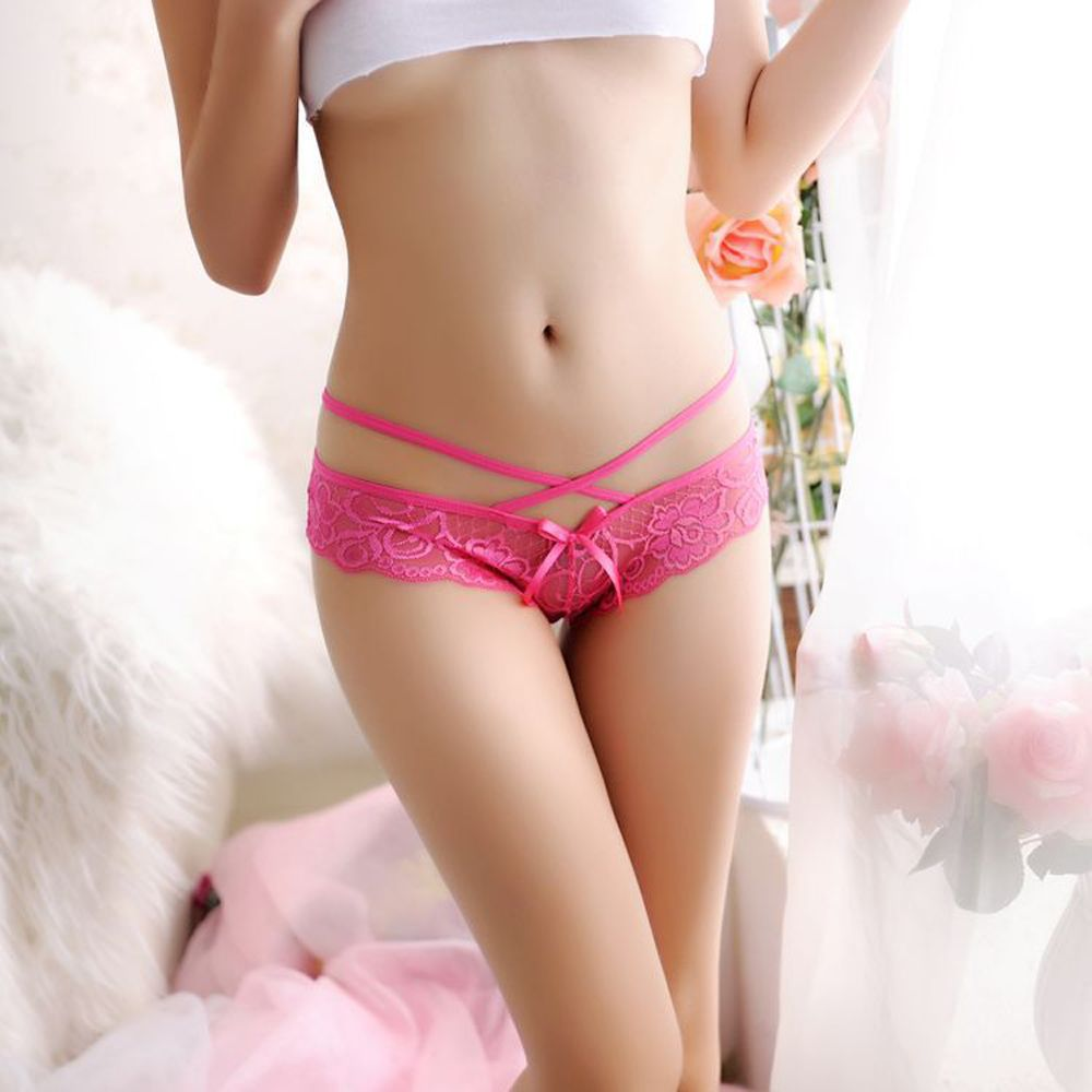 New Fashion Underwear Women Sexy Lace Thongs G-string V-string Panties Underwear Knickers Lingerie of Sexy Panties 7 Colors