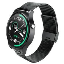 Más nuevo Bluetooth 4.0 Reloj Inteligente Ulefone GW01 IPS Pantalla Redonda de la Vida A Prueba de agua Deportes Reloj de Pulsera Para Teléfonos Android IOS