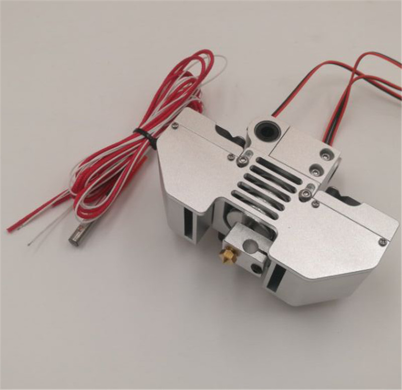 Blurolls V6 jhead extruder mount kit perfect for UM2 Ultimaker2+ 3D printer print head hot end kit 6MM smooth shaft 2017 assembled jennyprinter3 z360ts dual extruder nozzle extended for ultimaker 2 um2 high precision auto leveling 3d printer