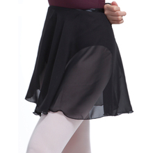 ballet skirt women chiffon short dance skirt sheer wrap ballet skirt