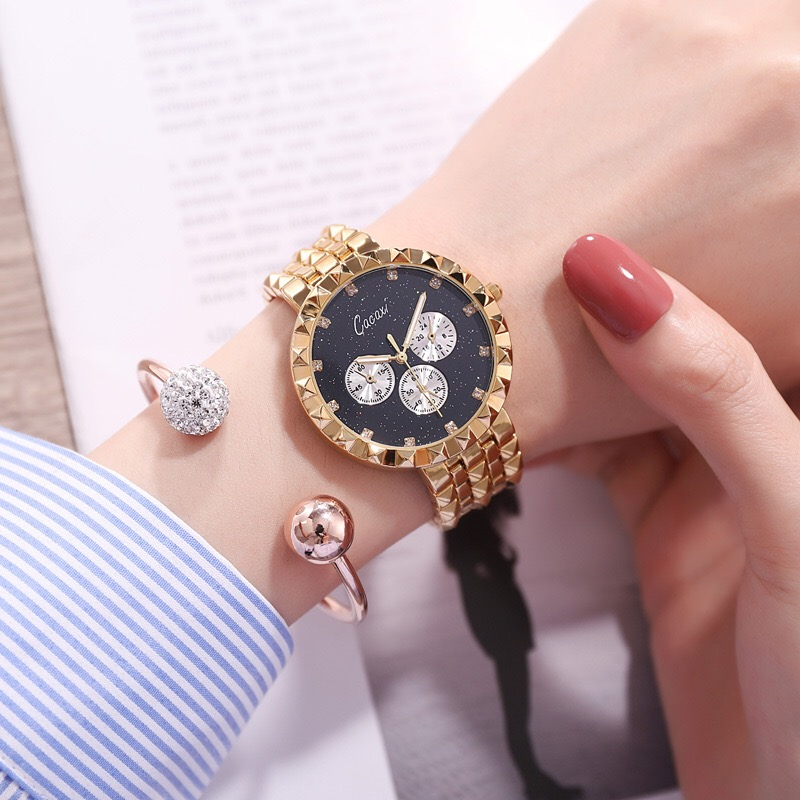 2018 New Fashion Gold rose gold silver women watches Luxury gift set girl Bracelet Dress watch Ladies Quartz Wrist Watches 2016 new arrive fashion and casual ladies watches silver bracelet luxury crystal watch oem round ultra slim dress quartz watches