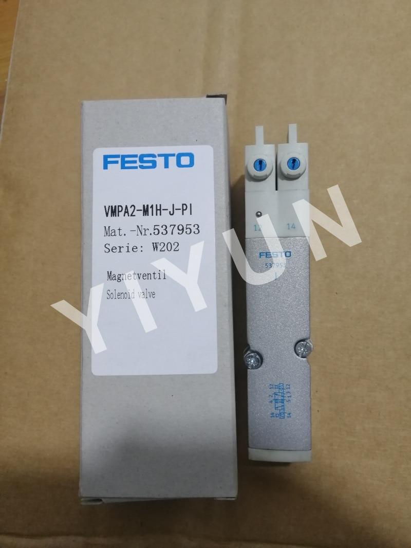 VMPA2-M1H-J-PI 537953 VMPA2-M1H-M-PI 537952 VMPA2-M1H-K-PI 537957 VMPA2-M1H-G-PI 537955 FESTO Solenoid valve Pneumatic component [sa] new original authentic special sales festo solenoid valve vmpa1 m1h e pi spot 533346