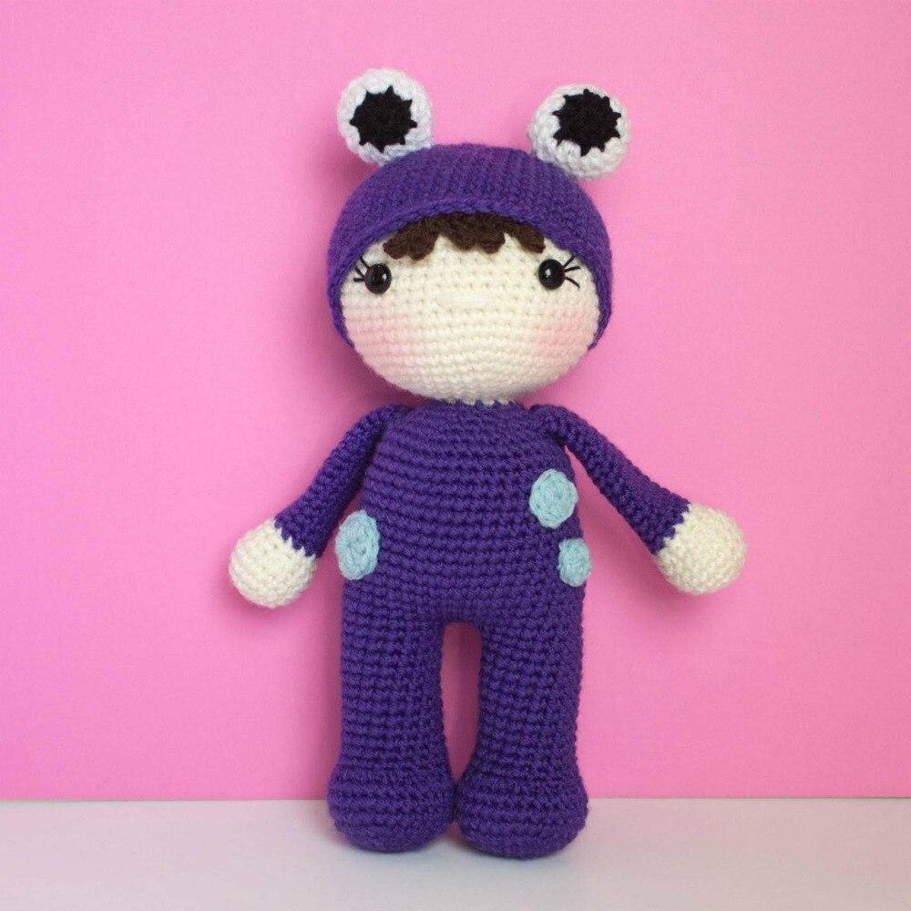 Armigurumi Crochet Rattle Toys  Frog  Girl   Model Number Koi011