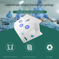 1set Laparoscopic Surgery Training Box Package Simulated Surgical Equipment High Quality Instrument Trainer Surgical Instrument