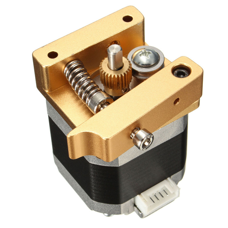 New Arrival High Quality 3D Printer Aluminum Extruder Kit NEMA 17 Stepper Motor 1.75mm 1.7A 2000g RepRap Prusa i3 Low Price