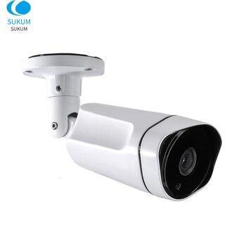цена на 1080P HD IP Camera POE CCTV Bullet Metal Waterproof Network Onvif P2P Infrared Night Vision Security Surveillance Camera