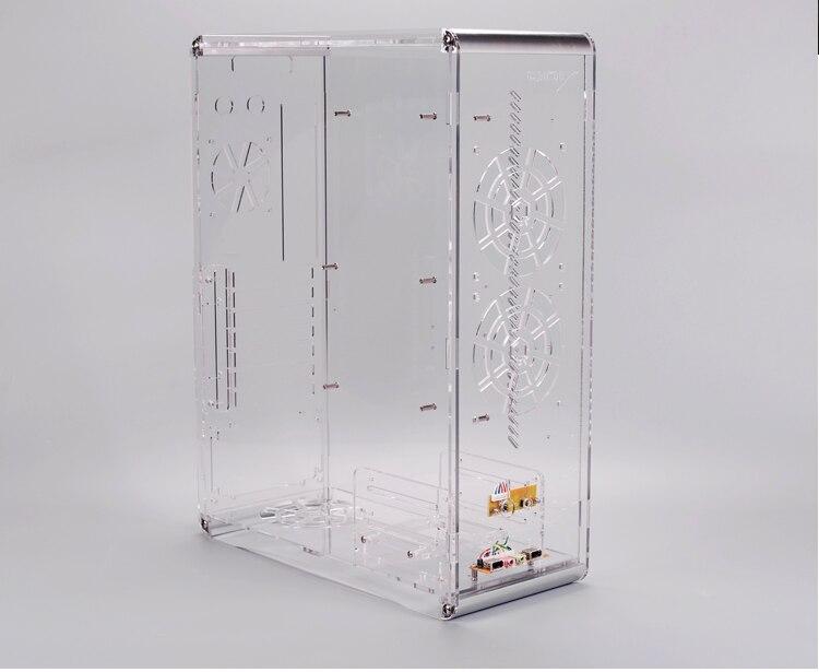 transparente para atx matx micro mini itx