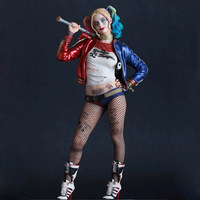 2018 Hotsales Action Figures Toys Suicide Squad Task Force X 25cm Harley Quinn PVC Action Figure Collectible Model Toy Dolls