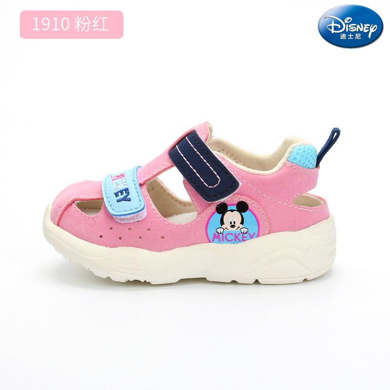2019 New Disney Baby Sandals Infant Soft Non-slip Baotou Kick Beach shoes Indoor and outdoor toddler shoes2019 New Disney Baby Sandals Infant Soft Non-slip Baotou Kick Beach shoes Indoor and outdoor toddler shoes