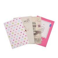 Free Shipping Korea Creative Cute Cartoon School Supplies A5 Notebook Notepad Diary Gift Set