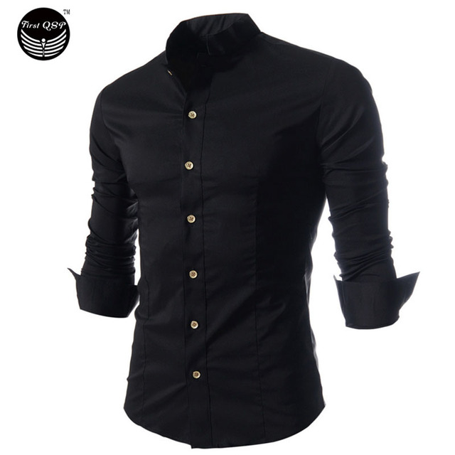 Brand 2017 Men Shirt Specials, New Winter Men'S Fashion Brand Shirt Camisas Slim Collar Shirt, Quality Soft Cotton Dress Shirts