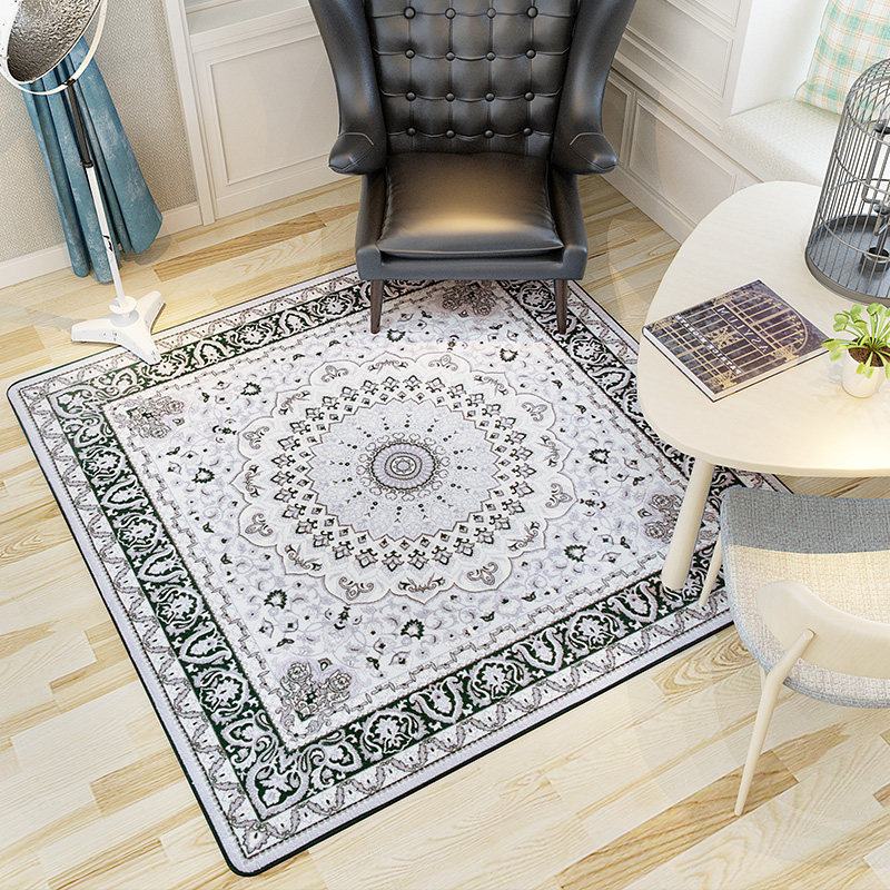 120x120 cm piazza fiore tappeti per salotto moderno europa zerbino camera da letto per bambini tappeti