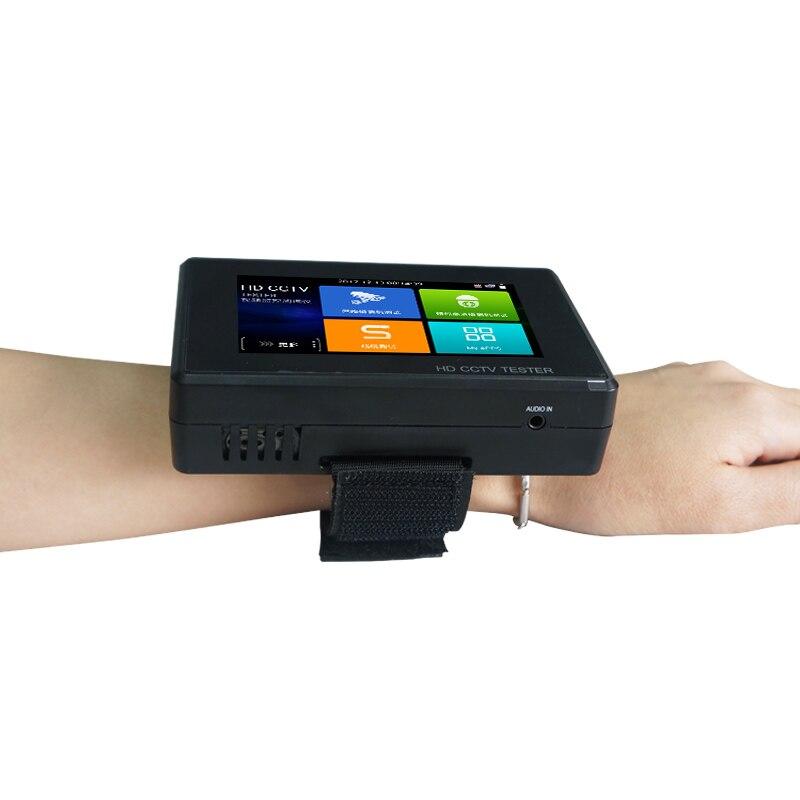 Новый 4 наручные 4K H.265 IP CVBS TVI CVI AHD 5 в 1 IPC 1800ADH плюс CCTV Тесты er Тесты Wi Fi ip камера