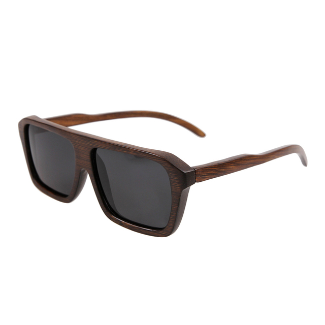 hot selling bamboo sunglasses polarized sunglasses wooden sunglasses Mixing colors accept Free Shipping