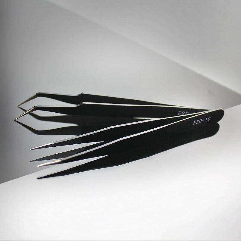 Qiao vynikající kvalita pinzety ohyb + přímé nové nerezové - Umění, řemesla a šití - Fotografie 4