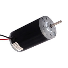 купить 42ZYT04C 160W 12v 24v 48v 8770rpm high power and low noise Permanent Magnet Brush DC Electric Motor with 100mNm  по цене 857.98 рублей