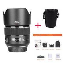Meike 85mm F/1.8 פוקוס אוטומטי מלא מסגרת Aspherical בינוני טלה ראש עדשה עבור Canon EOS 1300D 750D 1100D 600D DSLR מצלמות