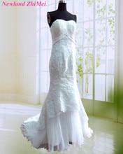 Fashionable Mermaid Wedding Dresses Sexy Sweetheart Appliqued Beaded Organza Bridal Gowns robe de mariee 2018