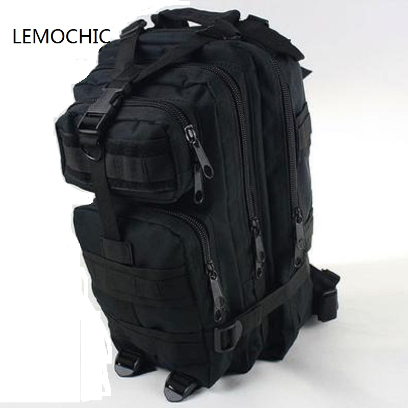 Prix pour LEMOCHIC tactique sac de camping En Plein Air sport mâle Camouflage femmes voyage sac randonnée attaque paquets tactique militaire sac à dos