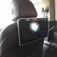 Автомобильные тв экраны дешевые подголовник медиаплеер для BMW 5 серии 550i Android монитор Авто аксессуары 11,6 дюймов 2 шт.