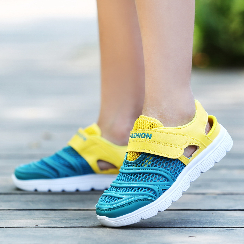 ULKNN Mesh Shoes 6 Years Old Children 7 Sports Shoes 8 Primary School 9 Boys 10 Big Children 12 Breathable 15 Casual Shoes 13