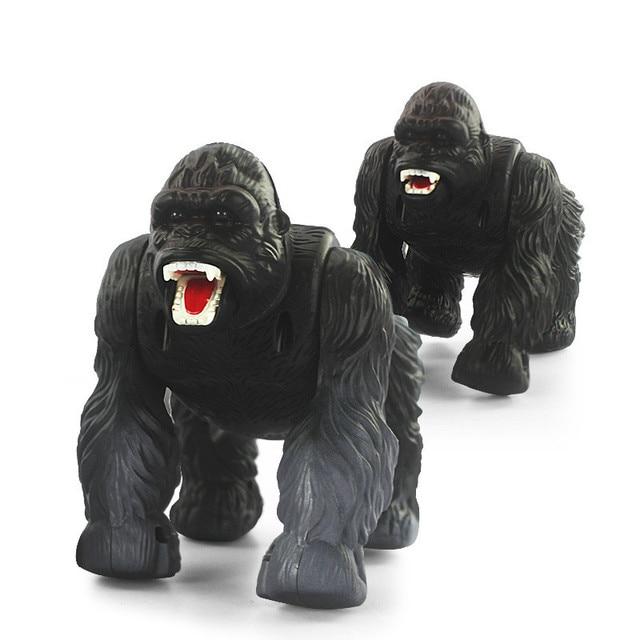 Remote Control Electric Toy Animal Models Simulation Orangutan