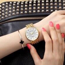Crrju 2017 caliente de la manera marca relogio feminino mujer reloj de moda casual reloj de cuarzo de acero inoxidable relojes de las mujeres