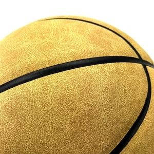Image 5 - SPORTSHUB Size7 Echtem Leder Indoor & Outdoor Anti slip Sport Basketball Ball Anti reibung Basketball 2 Farben BGS0001