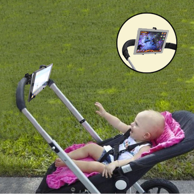 Realistic Stroller Accessories Tablet Pc Pad Holder Baby Listen To Childrens Songs Watch Cartoons Auto Car360 Rotation With 5-10 Inch Mother & Kids
