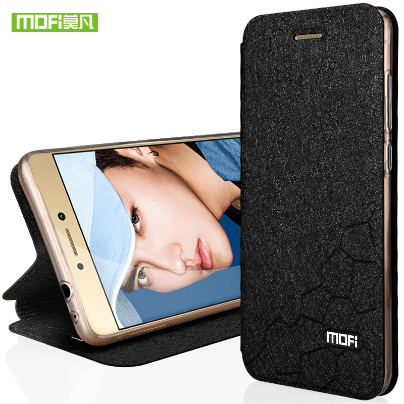 For Huawei honor 8 case for huawei honor 8 Lite case cover silicone capa For Honor 8 case luxury Mofi flip leather coque fundas