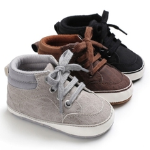Baby Boy Shoes Newborn Baby Boys First Walkers Shoes Infant Toddler Soft Sole Anti-slip Classic Sports Sneakers