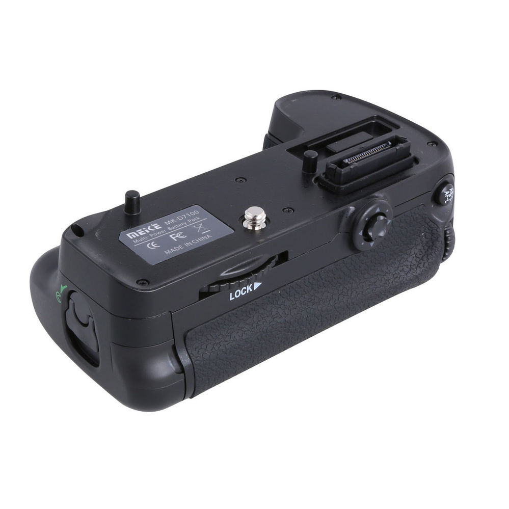 Meike Verticale Batterie support de prise en main pour Nikon D7200 remplacer MB-D15 comme EN-EL15