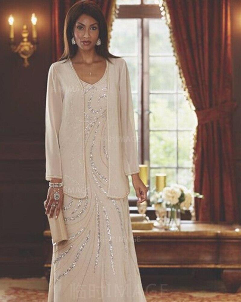 Mutter Der Braut Kleider Plus Größe Vestido De Novia Chiffon Mit ...