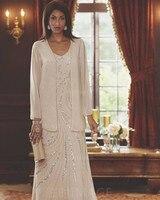 Мать невесты Платья для женщин плюс Размеры Vestido De Novia шифон с рюшами куртка Бусины Наряды на свадебную вечеринку mutter Вид Kleider