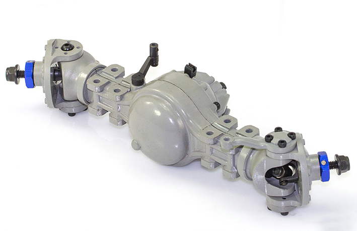 JD-86 Front Metal Steering Axle With Differential Lock jd 90 rear middle metal axle with differential lock