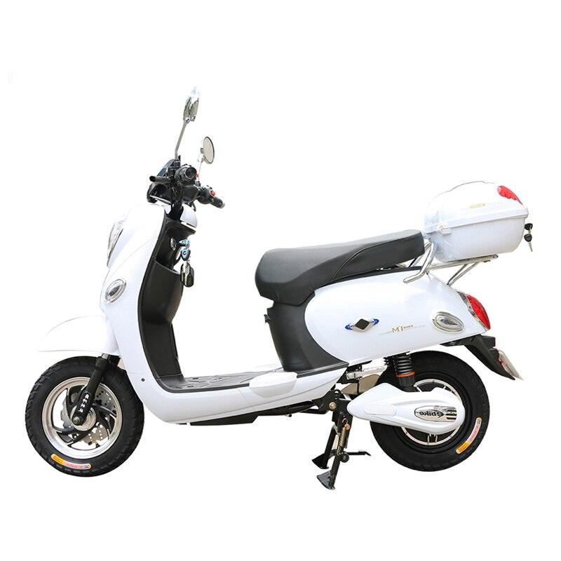 Moto électrique avec 48/60 V 20Ah batterie au Lithium avant/arrière frein à disque hydraulique E Scooter 48 v 500 W vélo électrique