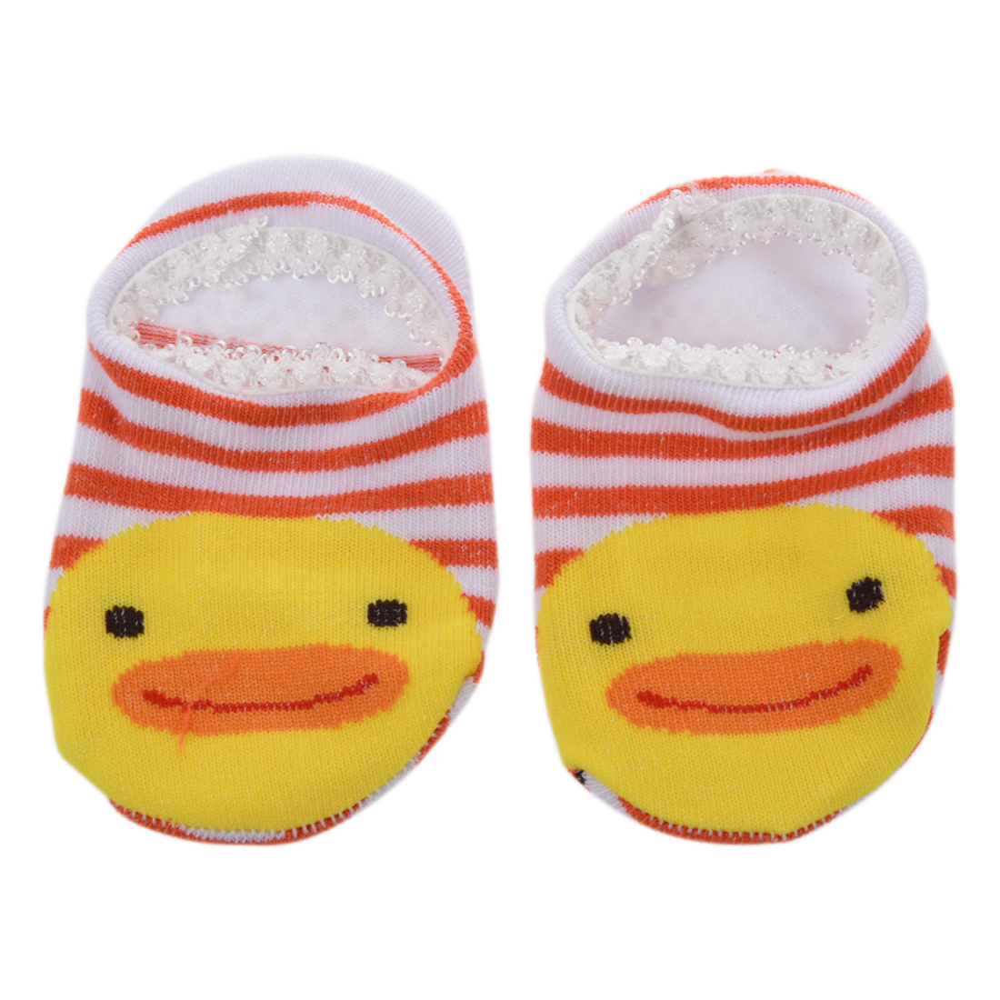 FBIL-1 pair of baby socks anti-slip Non-slip socks slippers (color random)