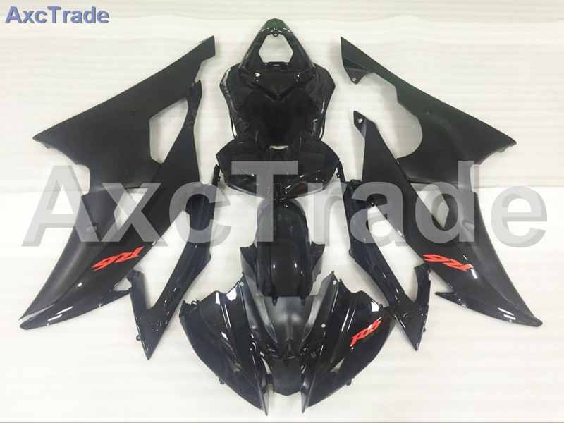 Motorcycle Fairings Kits For Yamaha YZF600 YZF 600  R6 YZF-R6 2008-2014 08 - 14 ABS Injection Fairing Bodywork Kit Black A891 injection molding bodywork fairings set for yamaha r6 2008 2014 blue white black full fairing kit yzf r6 08 09 14 zb77