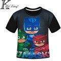 Los niños de Dibujos Animados en 3D Camisetas de manga Corta Camiseta T Camisa de la novedad de la Manera Del Deporte Del Muchacho de La Camiseta Digital de Superhéroes de Impresión Tops Diseño de Marca