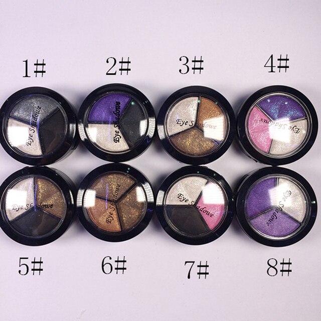 Красота Косметика 8 Цветов Тени для век Природный Смоки Палитра Теней Комплект Макияж Макияж LY8